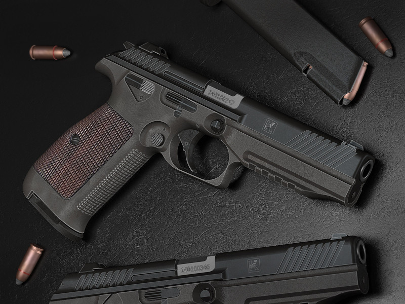Эргономика и баланс пистолета ПЛ-14