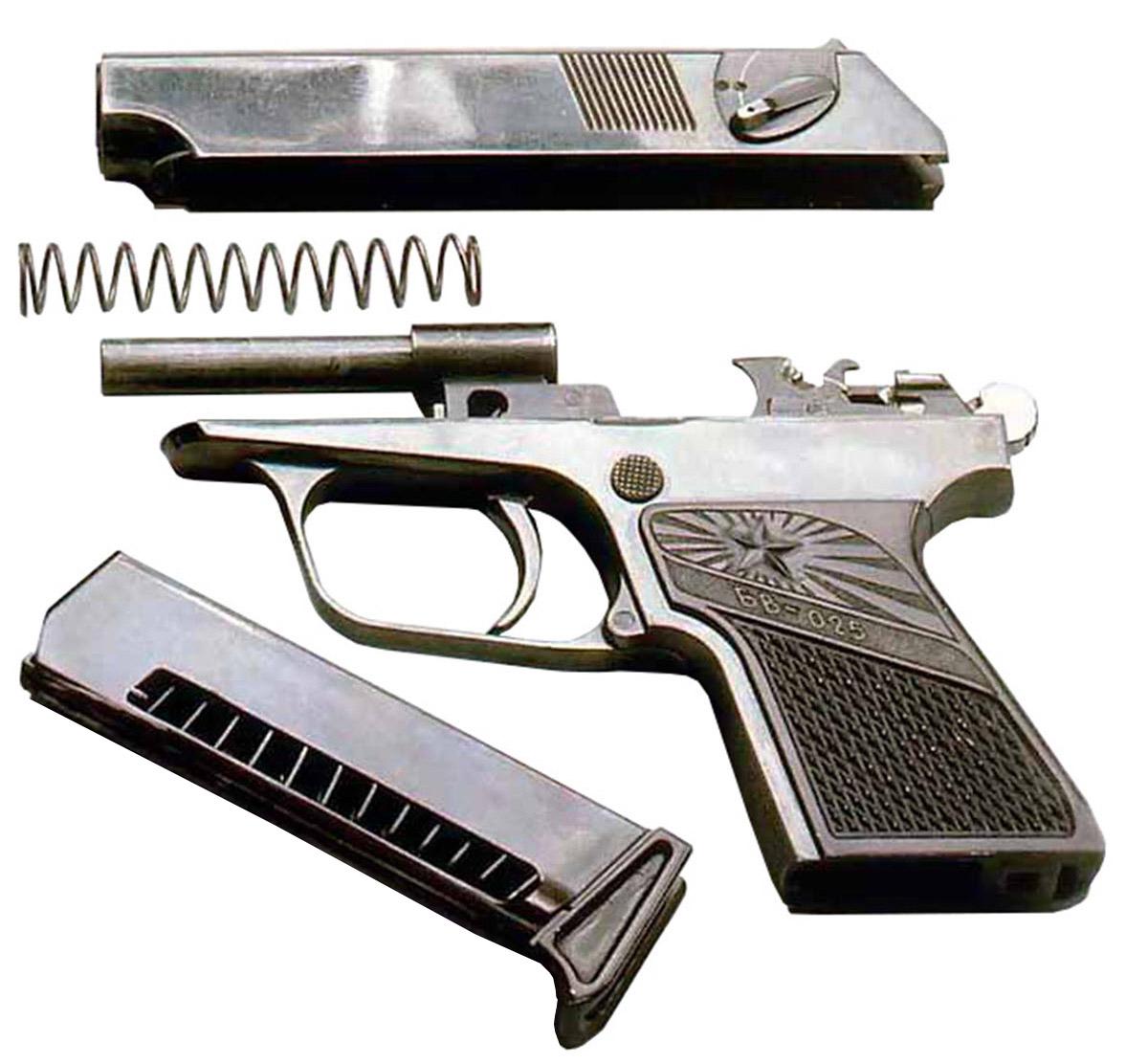 Пистолет Бабкина БВ-025