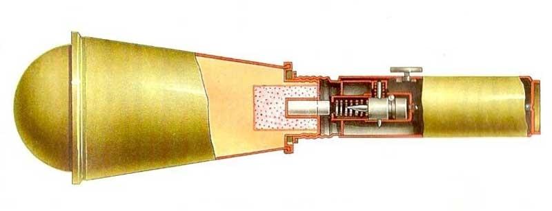 Manual antitank grenade RPG-6
