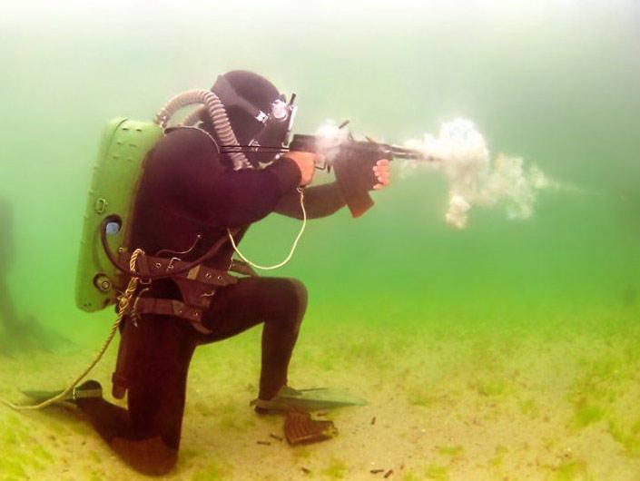 Automatic underwater APS