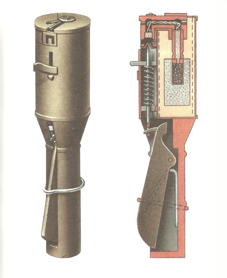 Hand grenade mod. 1914/30 g. V.I.Rdultovskogo