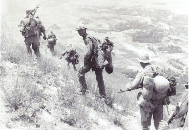 Особенности разведки в горах Наблюдение. При действиях в