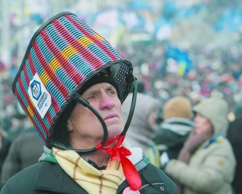 проворные, украинцы с кастрюлями на голове фото количеству