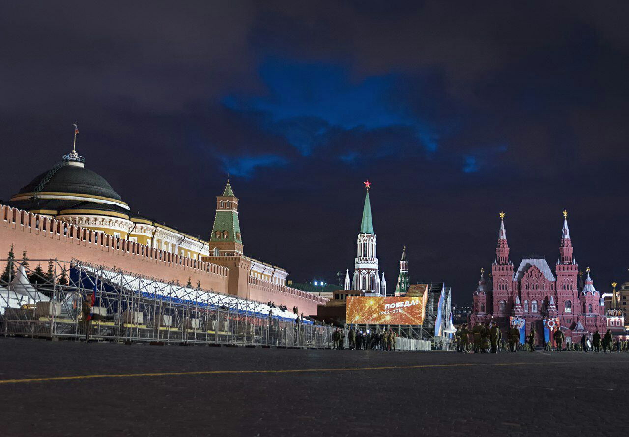 Репетиция Парада ПОБЕДЫ 2018 - МОСКВА