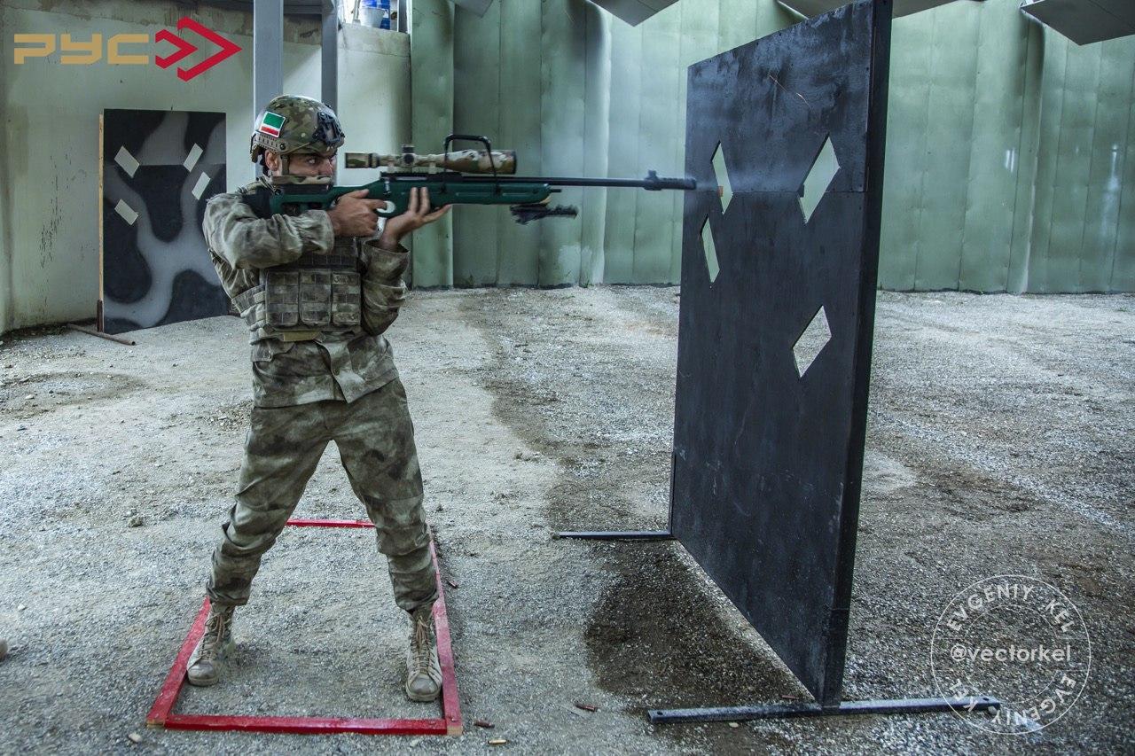VI открытый Чемпионат Чеченской Республики по тактической стрельбе среди силовых подразделений России