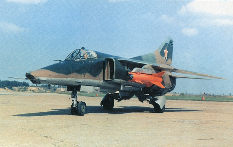 MiG-27 Dimensions. Engine. The weight. story. Range of flight. Service ceiling