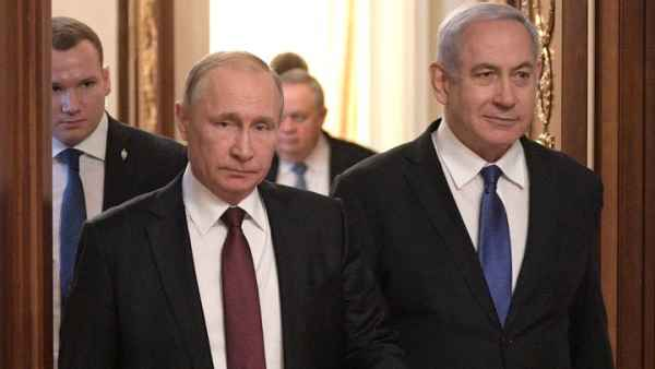 whether Netanyahu will be able to embroil Russia with Iran