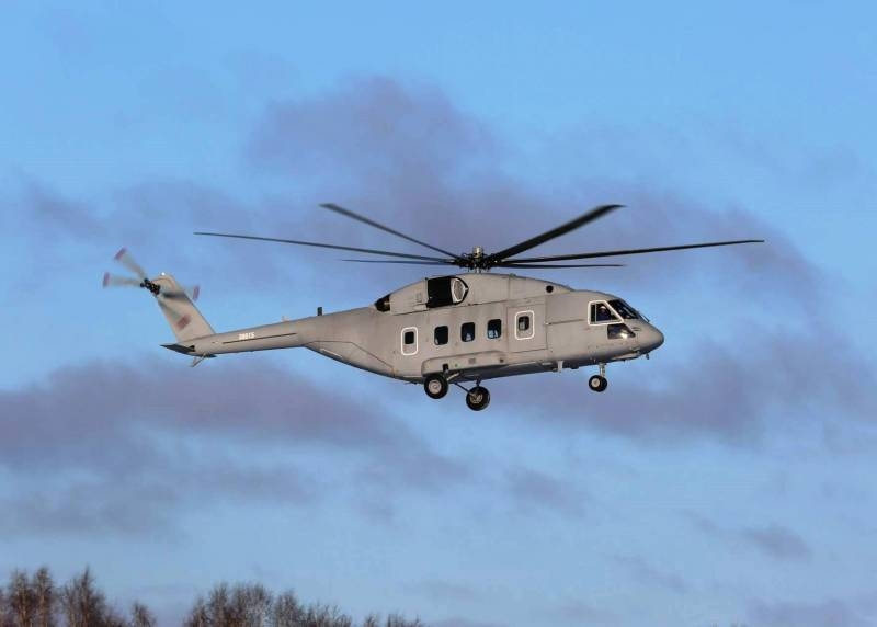 The first Mi-38T will go to the troops before the end of June