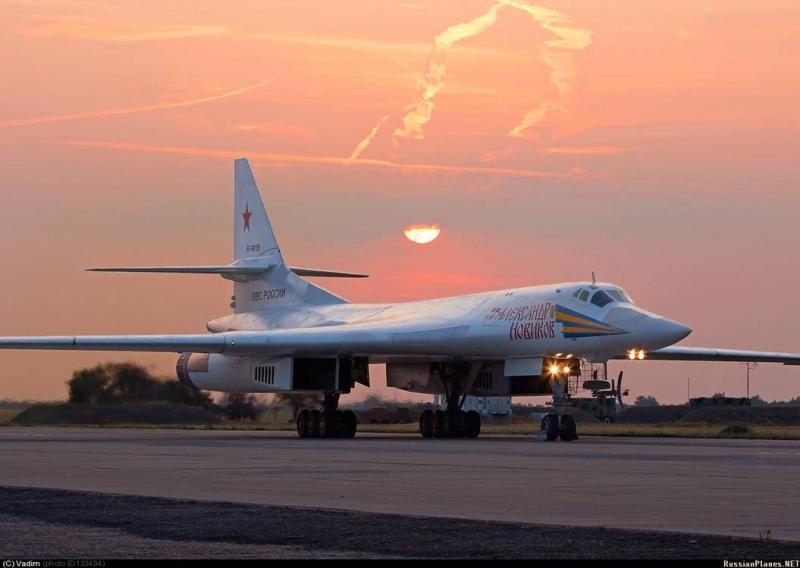 Força Aérea Russa recebe primeiros bombardeiros estratégicos Tu-160 modernizados