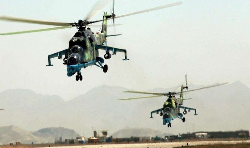 The most massive helicopter battle in history involving Mi-24