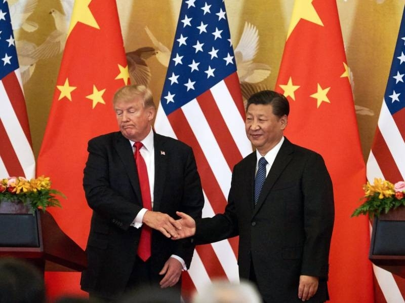 Losing a trade war with China, Trump pulls the last trump