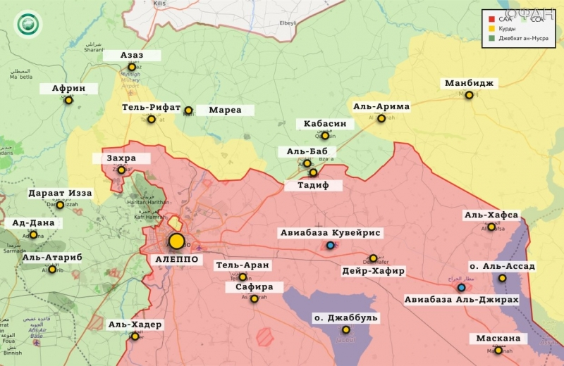 Syria news 12 December 19.30: Kurdish fighters are preparing new recruits in Aleppo, in Idlib, government forces responded jihadists