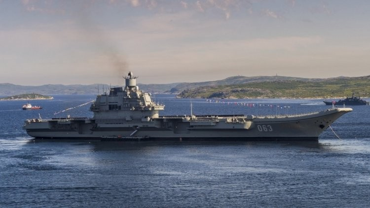 Two soldiers injured in a fire on an aircraft carrier «Admiral Kuznetsov» — Defense Ministry