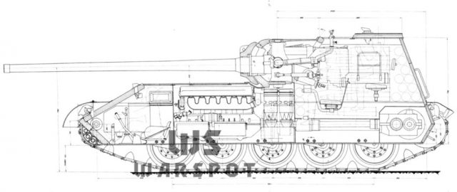 Project SU-101 as an alternative to the aft guns