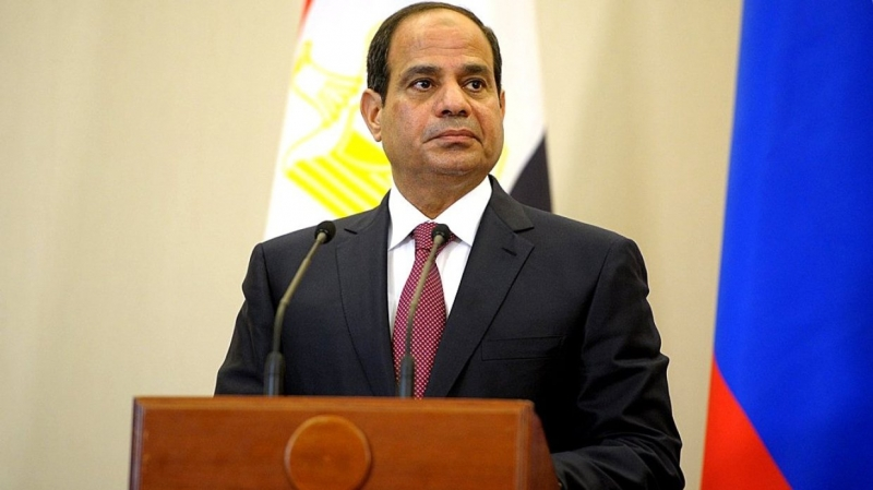 Egyptian President supported Haftorah force and criticized the intervention in Libya case