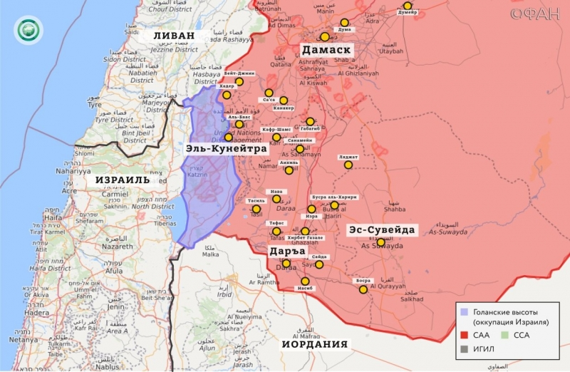 Syria news 26 December 22.30: * IG announced involvement in the explosion in Dar, SAA razminirovala 3 hectares of land per day