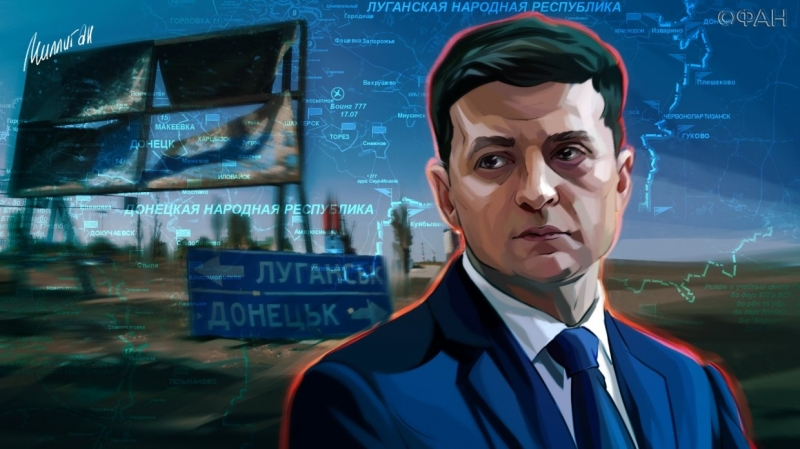 After a meeting in Paris Zelensky have to give special status of Donbass