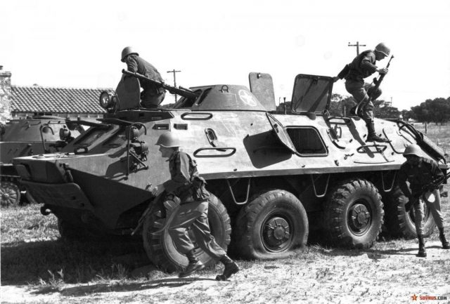 BTR-60: the world's first series-axle vehicle armored personnel carrier