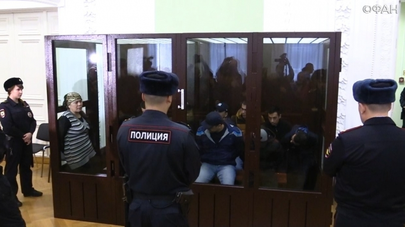 The verdict in the case of terrorist attack in the subway announced in St. Petersburg.