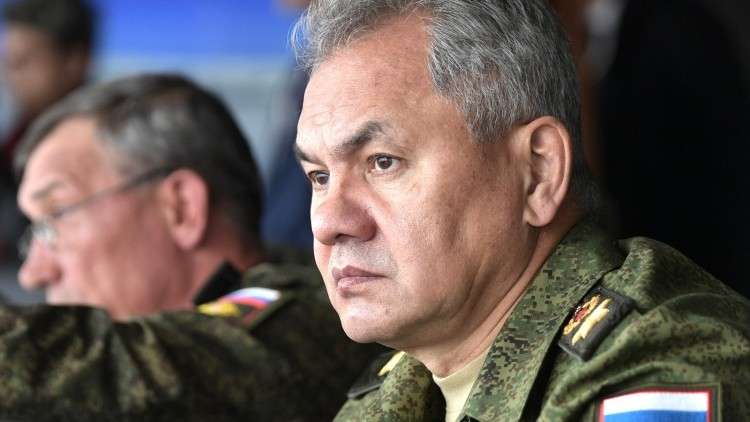 Shoigu said, NTSUO that can operate without human