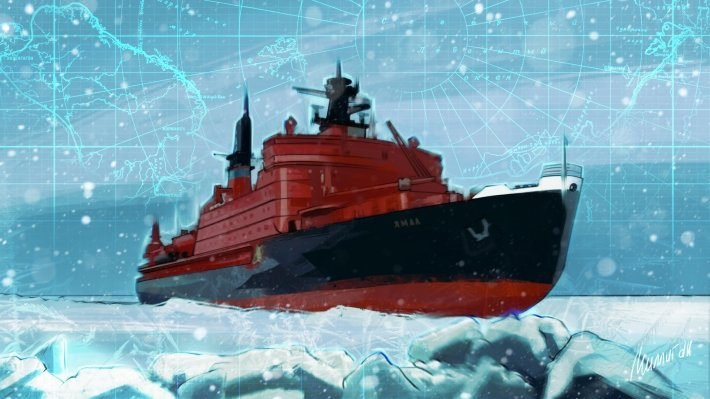 The new icebreaker will allow Russia to dominate the Arctic