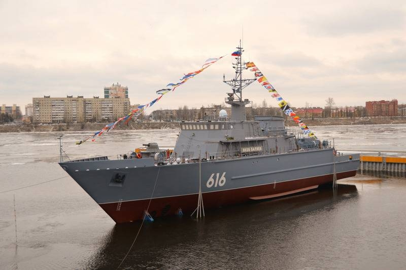 Offshore trawler «Yakov Bala» project 12700 launched in St. Petersburg