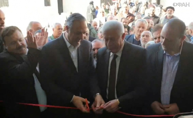 Damascus Department of Education restored school in Eastern Guta