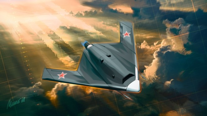 Ammunition weight up 100 kg are created for Russian drone