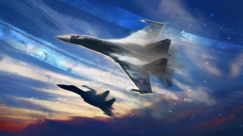 Military Watch revealed the advantages of the Su-35 to the F-15EX