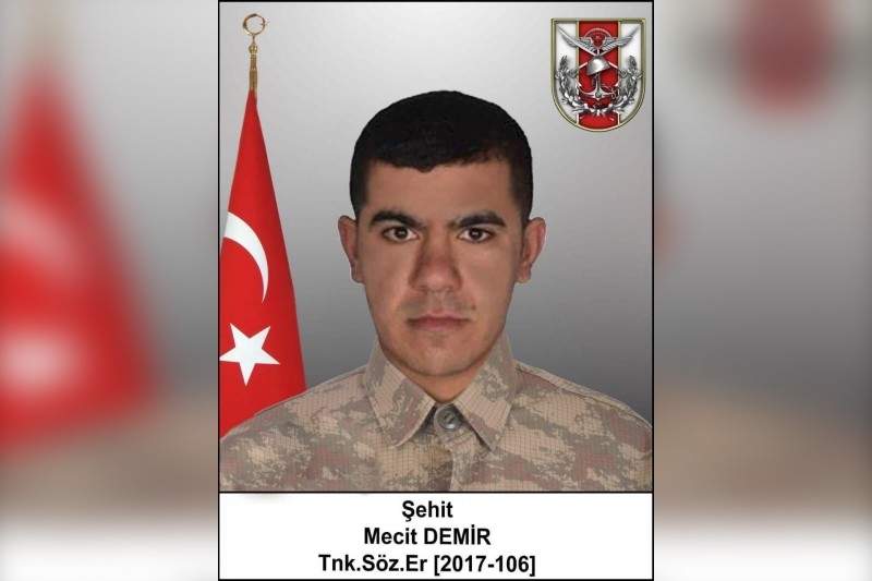 Ankara has confirmed the death of another of the Turkish military in the Syrian Idlib