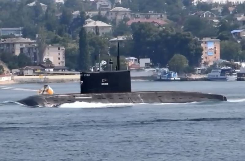 Bosphorus passed: striking militants of the ISIS submarine of the Russian Navy returns to the coast of Syria