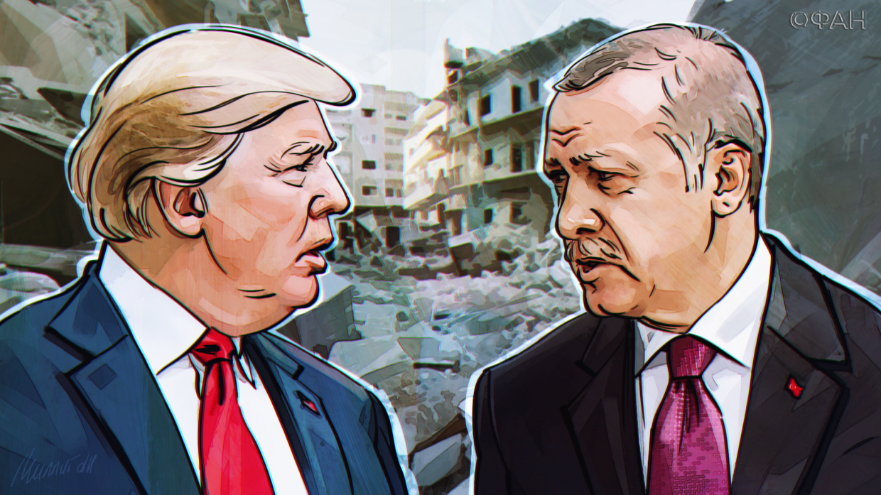 Turkey and the United States teamed up in Libya in an information campaign against Russia