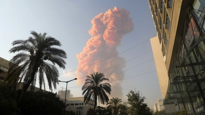 The nature of the explosion in Beirut raises doubts in the accident