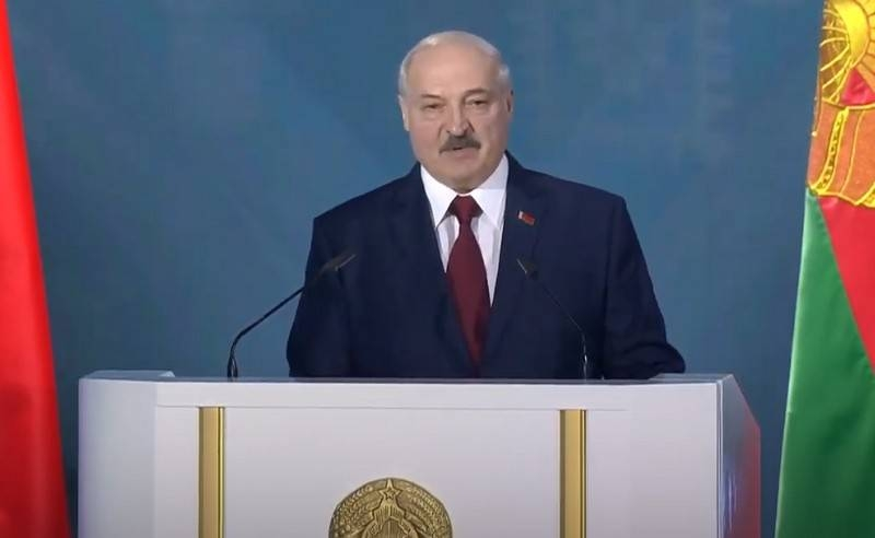 Lukashenka made an address to the people on the eve of the elections