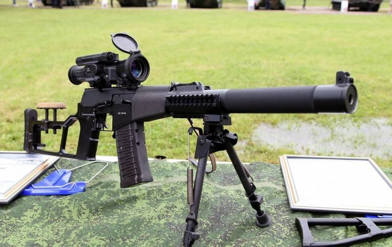 A batch of modernized sniper rifles «Screwdriver-M» entered the BBO