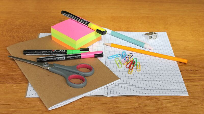 When shopping for school supplies, parents can save up to 30%
