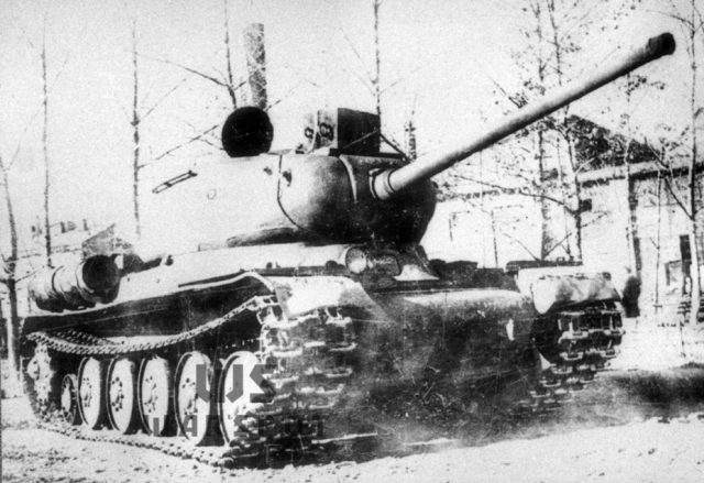 Complicated history of development of the Soviet heavy tank IS-6