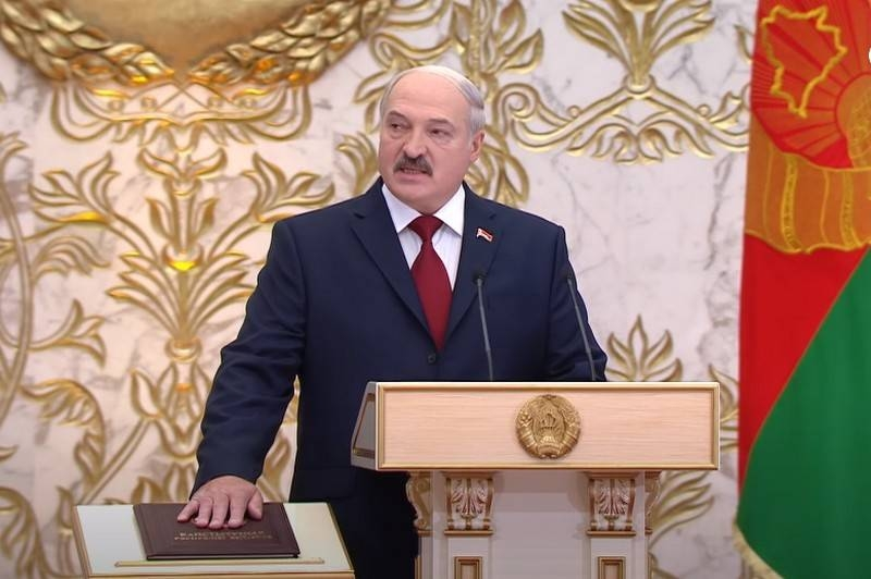 Alexander Lukashenko officially took office as President of Belarus
