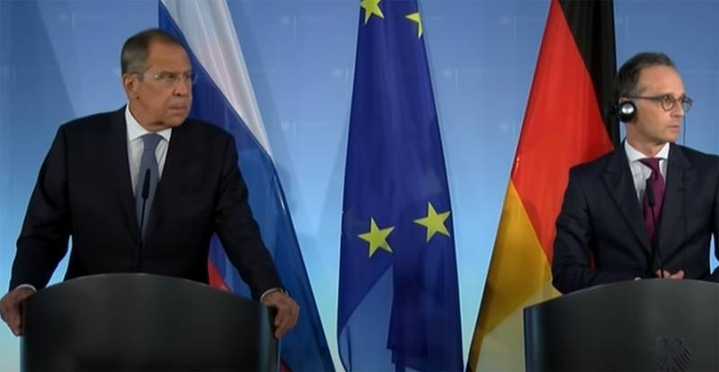 Russian Foreign Ministry confirmed information about cancellation of Sergey Lavrov's visit to Berlin