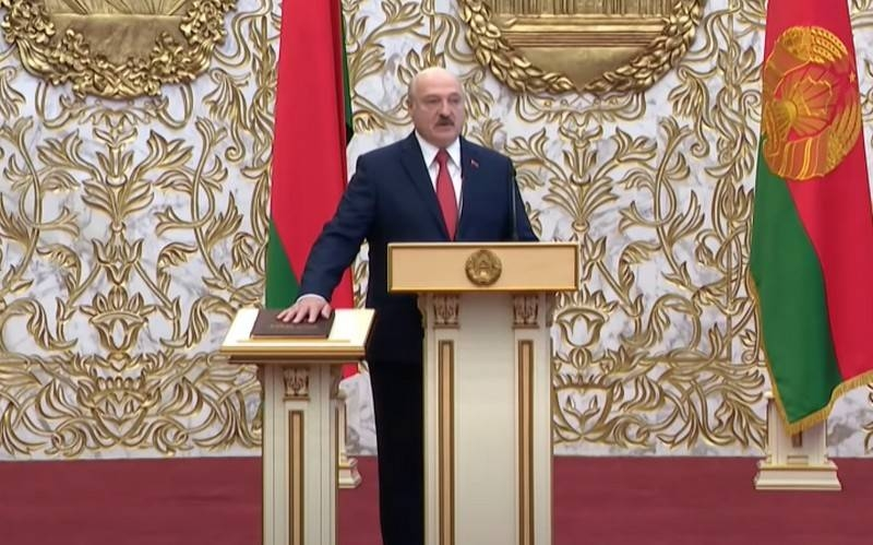 USA and Europe did not recognize Alexander Lukashenko as President of Belarus