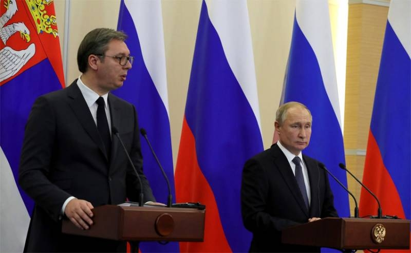 The network is discussing Putin's apology to Vucic for the sensational post of Zakharova