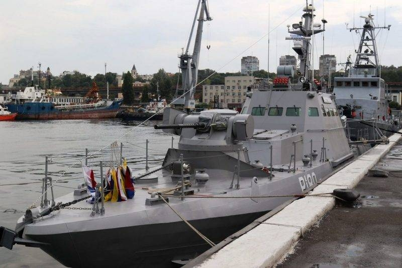 The Ukrainian Navy has replenished with a small artillery boat of the project 58155 «Kostopol»