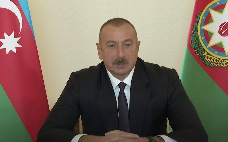Aliyev named the conditions for the cessation of hostilities in Nagorno-Karabakh