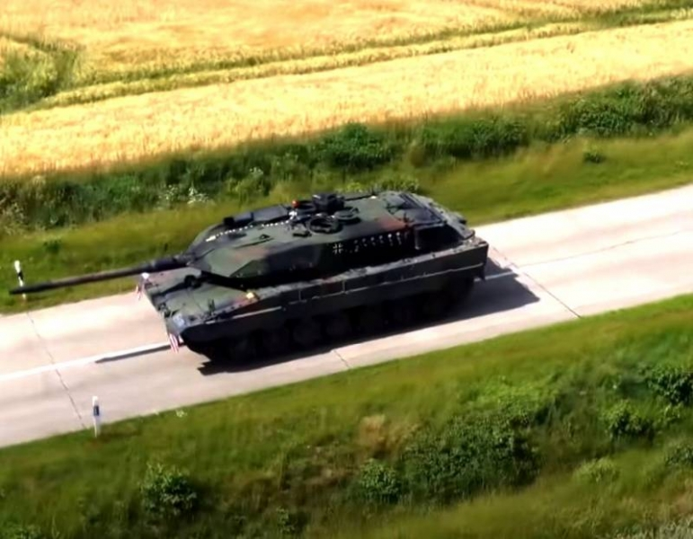 The Bundeswehr has successfully tested a new version of the Leopard tank