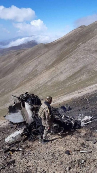 Azerbaijan official: Two Armenian Su-25s crashed into the mountain