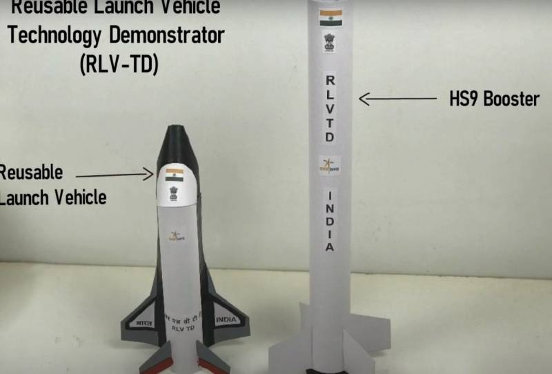 India prepares its first space shuttle RLV-TD for testing