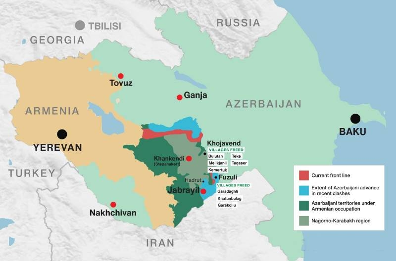 Which grouping of troops may be surrounded in the Fizuli area: dispute of experts on the situation in Karabakh