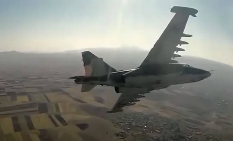 The truce continues: Azerbaijan announces another downed Su-25 of the Armenian Air Force