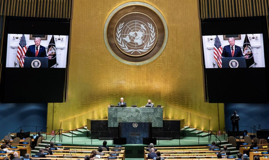 Redistribution in favor of the General Assembly of the powers of the UN Security Council is unacceptable