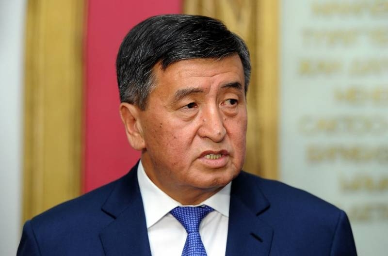 President of Kyrgyzstan will send troops to the capital of the country